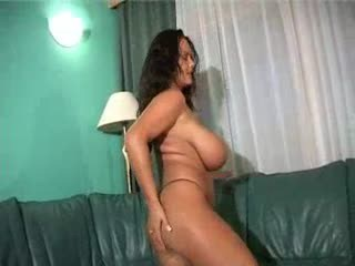 Exciting big boobs girl