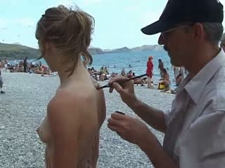 Body painting nudists 1282