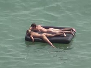 Nudists in the water 1285