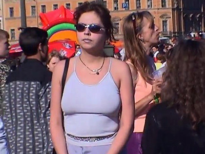Unbelievable natural boobs