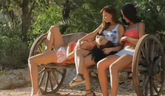 Horny Teens in GangBang HD