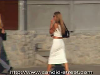 Sexy candid teens caught at the street